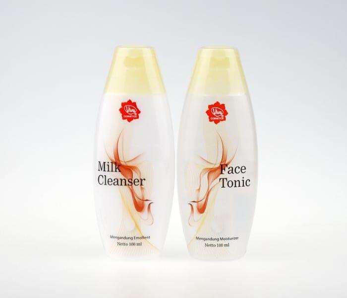 12 Varian Viva Milk Cleanser dan Face Tonic Terbaik Serta Kegunaannya