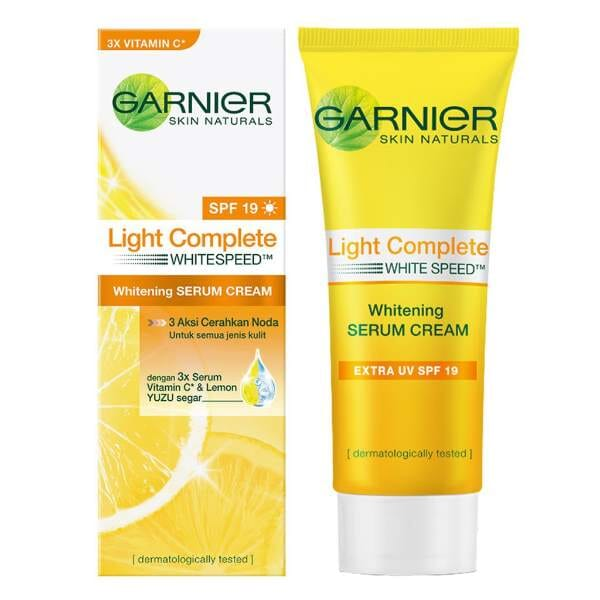 Garnier Light Complete Whitening Serum Cream SPF 19