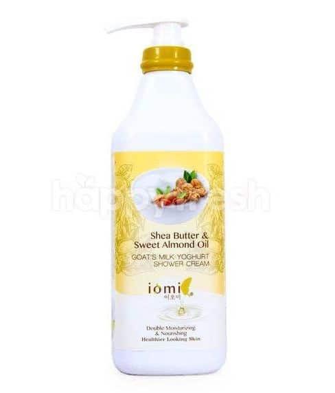 Iomi Shower Cream Goat's Milk Shea Butter & Sweet Almond Oil