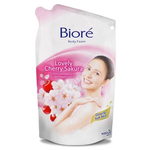Kao Biore Body Foam Refill Cherry Sakura