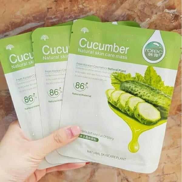 Manfaat Masker Rorec Cucumber