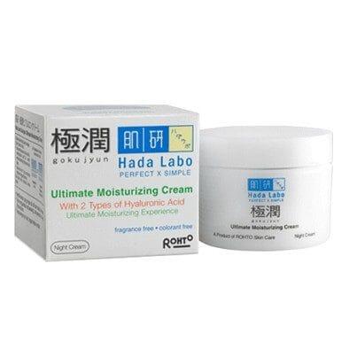 5. Hada Labo Gokujyun Ultimate Moisturizing Cream
